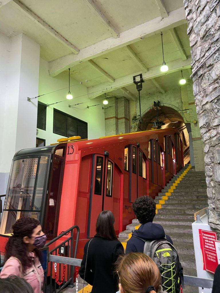 Funicular at Lake Como