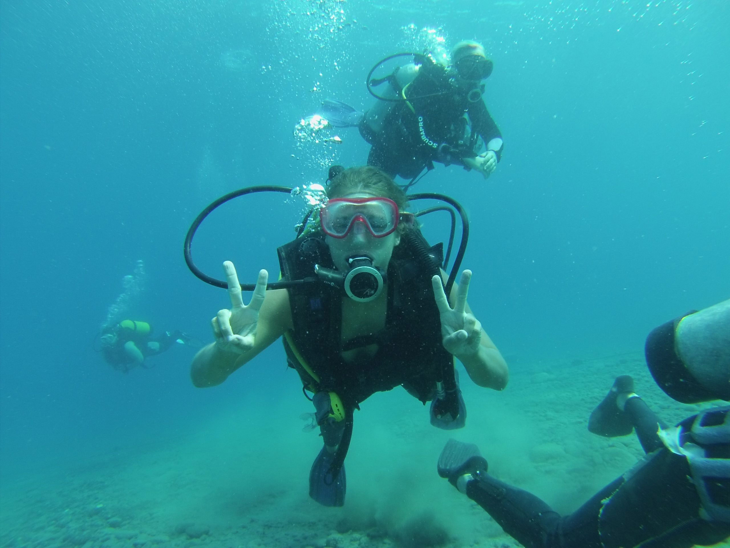 travel activities excursions diving in Turkey